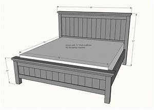 Farmhouse King Bed Plans