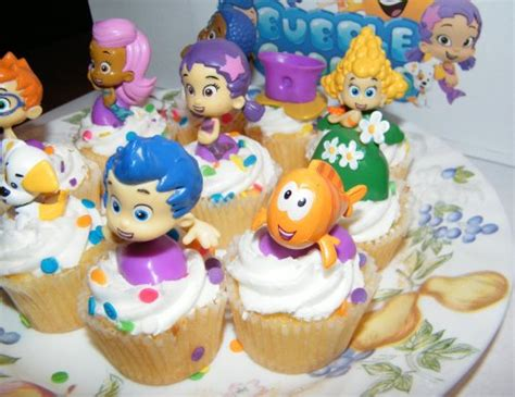 Guppies Cake Toppers by Nickelodeon Guppies Deluxe Figure Set Of 10 Cake