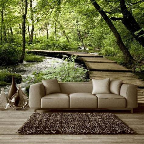 custom photo silk  wallpaper  walls   living room