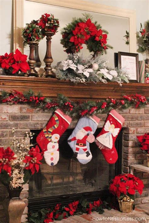christmas mantel holidays christmas decor