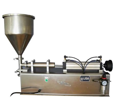 tabletop filling machine piston filler  liquid packaging solutions