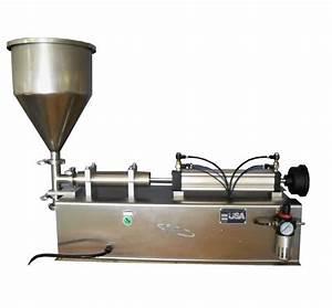 Machine À Café À Piston : tabletop filling machine piston filler by liquid packaging solutions ~ Melissatoandfro.com Idées de Décoration
