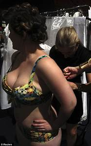 Plus-sized models storm the runway and display their ...
