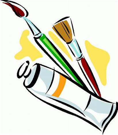 Clipart Clip Paint Supplies Craft Splatter Categories