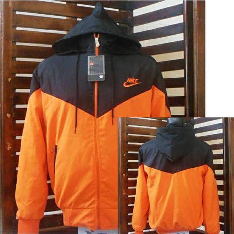 Harga Jaket Parasut Merk Nike jual jaket parasut nike orange grade ori hoodies sweater