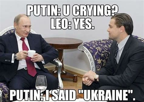 Putin Funny Memes - putin has a conversation with leonardo dicaprio meme meme collection pinterest leonardo