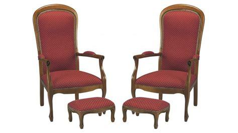 repose pied de bureau lot de 2 fauteuils voltaire bordeaux points beiges
