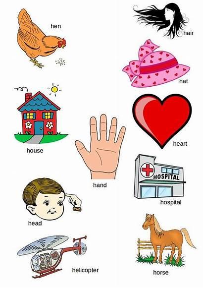 Letter Alphabet Letters English Words Preschool Beginning