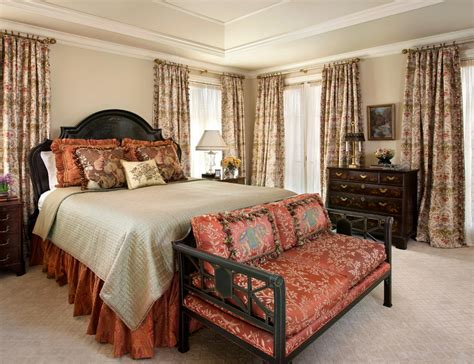 Houzz Master Bedroom With Wood Ceiling Bedroom