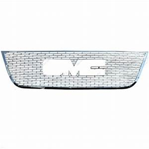 Gmc acadia chrome grille overlay 2007 2008 2009 2010 for Gmc acadia grill letters