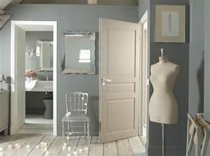 avec quelle couleur associer le gris plus de 40 exemples With quelle couleur de peinture pour un couloir 17 deco chambre lin marron