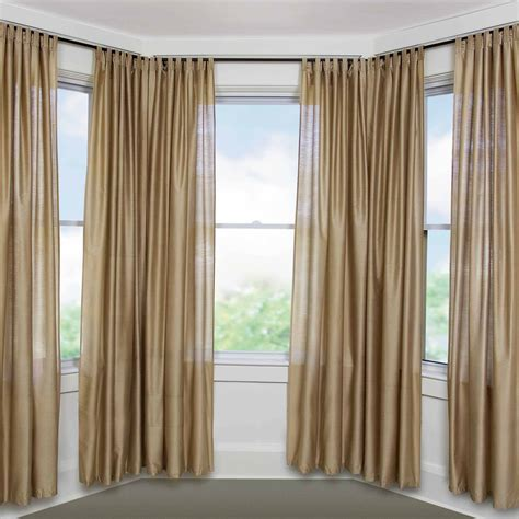 curtains inside corner curtain rods curtain rails