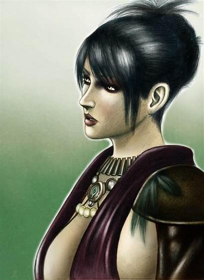 Morrigan Malkavian Primogen Dragon Age Portrait Deviantart