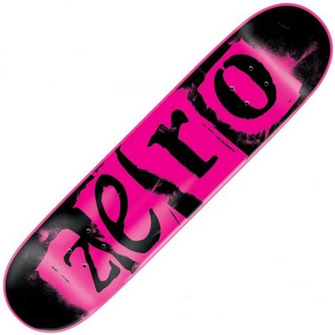 Zero Decks 775 by Zero Skateboards Zero Pink Deck 7 75 Quot Skateboard