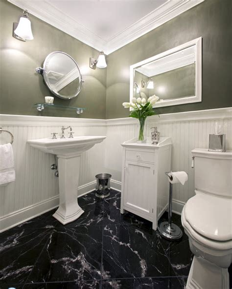 Marble Floors Bathroom by 30 Black Marble Bathroom Tiles Ideas And Pictures
