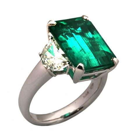 Anello smeraldo e diamanti Roma, vendita Anello smeraldo e