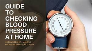 Guide To Checking Blood Pressure At Home