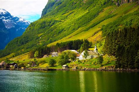 Scenery Picture by Best Scenery In The World Naeroeyfjord Photo 3 Onto