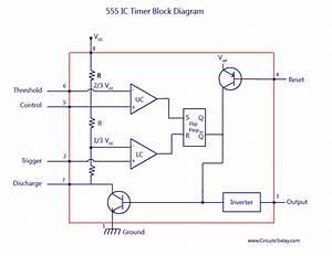 Circuit Diagram 555 Timer Ic