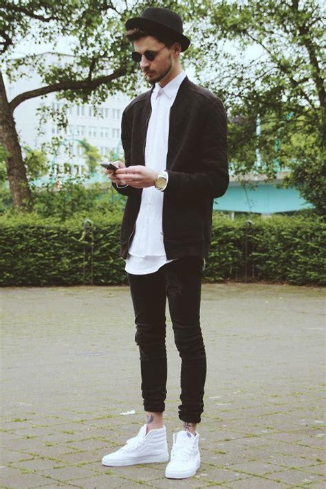 Vans Sk8 Hi Outfit Men