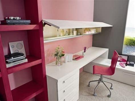 bureaux fille chambre ado fille bureau pratique avec une chaise étagères
