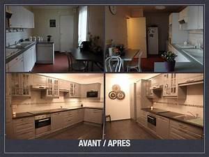 Cuisine Avant Après : avant apr s projet de d coration et d 39 am nagement d 39 espace ~ Voncanada.com Idées de Décoration