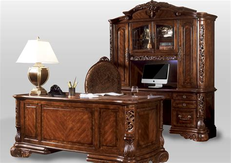 Home Office Credenza - michael amini credenza excelsior home office in fruitwood