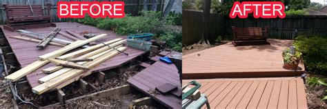 deck rebuild houston
