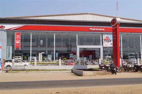 minerva automobiles mahindra dealers  showrooms