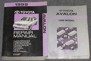 1999 Toyota Avalon Service Repair Manual Set