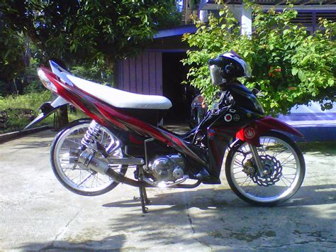 Modif Jupiter Z by Modifikasi Jupiter Z1 Terbaru Racing Drag Velg Jari Jari