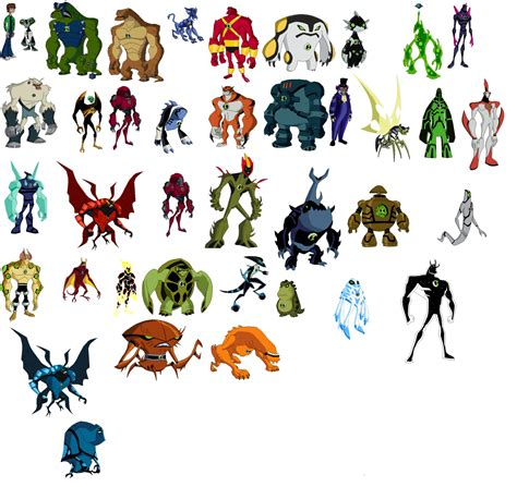 ben 10 ultimate aliens list mungfali