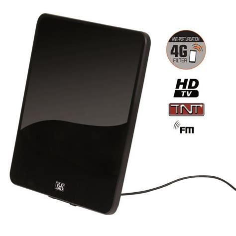 antenne interieure tnt hd puissante t nb aninflat55 antenne int 233 rieure lifi 233 e 55db antenne prix pas cher cdiscount