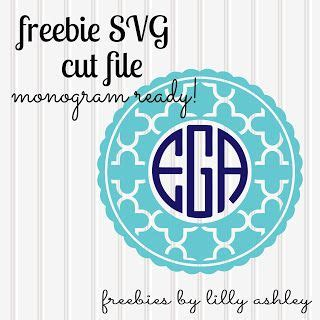 These files never expire and will always be available. free svg file monogram ready! | Silhouette Cameo ...