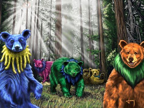 Grateful Dead Dancing Bears