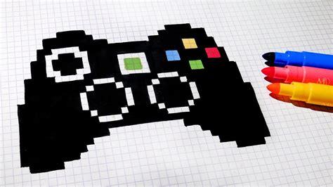 Handmade Pixel Art How To Draw Game Controller Pixelart