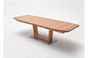 Table Bois Massif Extensible : table repas bois massif ovo dale 140 220 cm extensible cbc meubles ~ Teatrodelosmanantiales.com Idées de Décoration