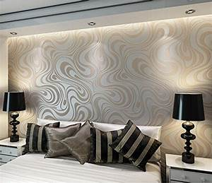Modern Luxury Abstract Curve 3d Wallpaper Roll Mural Papel ...
