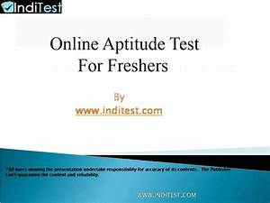 Pin On Online Aptitude Test Questions And Answers For Freshers