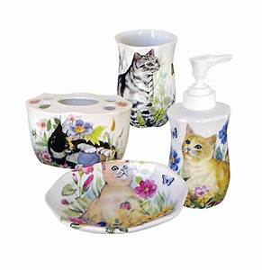 cat bathroom set 28 images catsparella quirky vintage With cat bathroom set