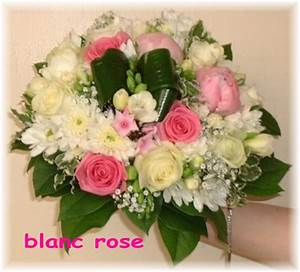 Bouquet Fleurs Blanches : bouquet de fleurs blanches et roses couronne fleur blanche ~ Premium-room.com Idées de Décoration