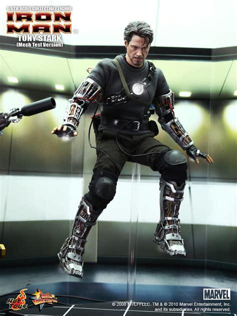 iron man action figure tony stark mech test version spec pics geektyrant