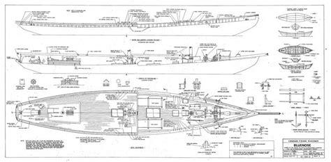 schooner bluenose plans model ship builder