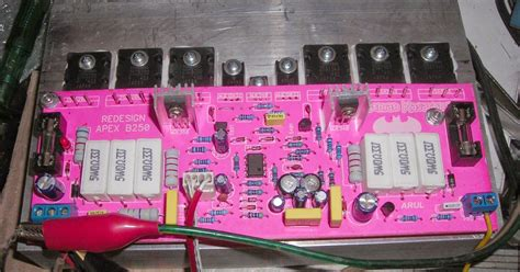 Apex Power Amplifier Audio Schematic Electrical