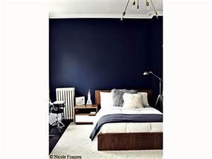 Chambre Parentale Bleu Nuit. decoration chambre parent. chambre ...