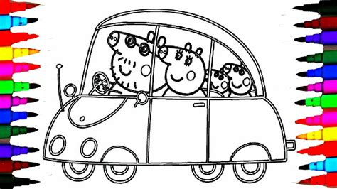 peppa pig coloring book pages kids fun art activities
