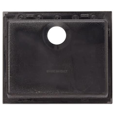 black kitchen sink drop in 24 quot holcomb drop in granite composite sink black kitchen