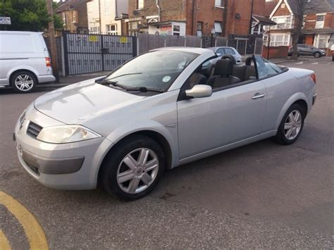 Renault Convertible by 1 6 Renault Megane Convertible 2004 Year 71000 Mot Till 12