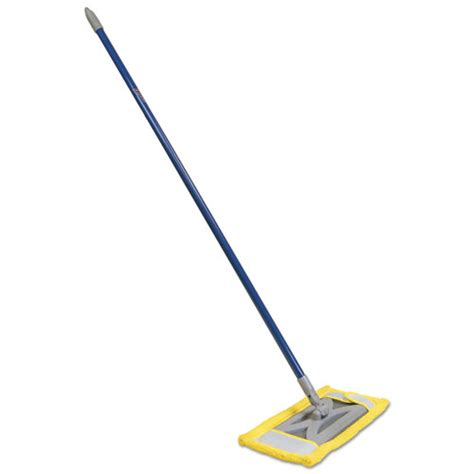 Best Microfiber Dust Mop For Hardwood Floors by Microfiber Floor Mop 48 Quot Handle 6 1 2 X 2 1 2 Frame Blue