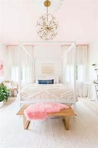 Chambre Rose Pale : peinture pour chambre coucher en 5 options qui vont vous s duire ~ Melissatoandfro.com Idées de Décoration